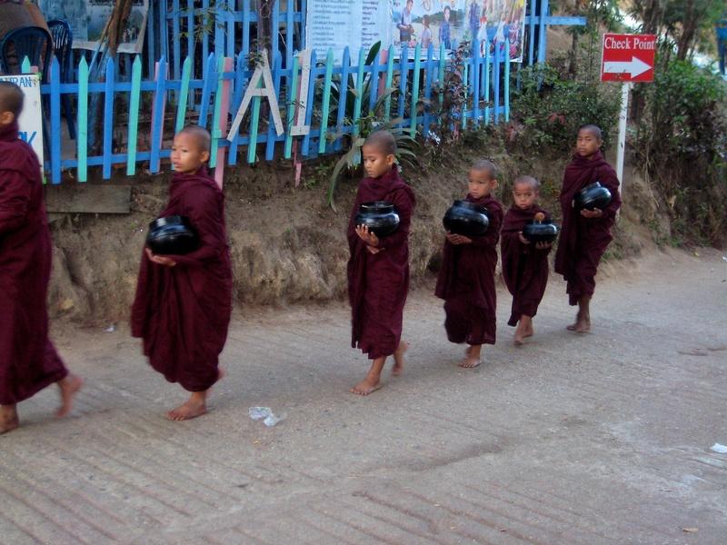 Kyaito - young monks