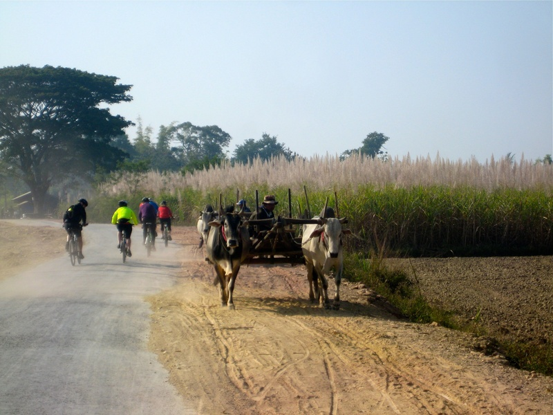 Inle Lake - on the way to the Red Mountain Vineyard