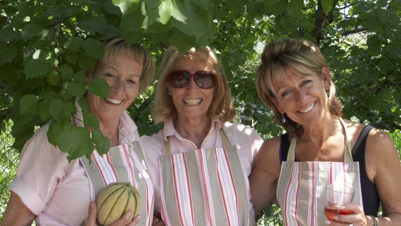 Our ladies in pink - the Crew