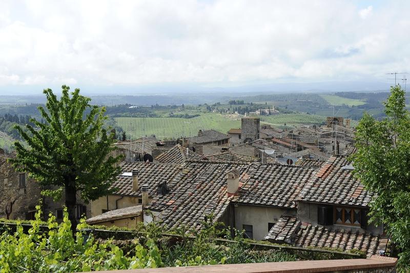 San Gimignano rooftops