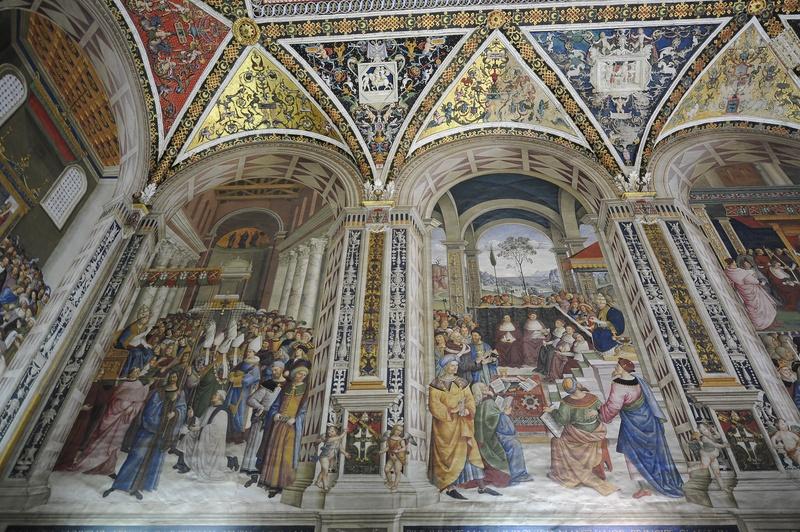 Inside the Duomo, Siena